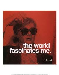 andy warhol quote quotes red text texto image on
