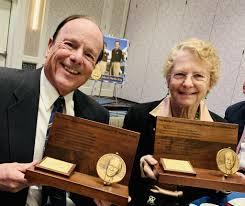 John and Martha Receive the Wesley L. McDonald Distinguished Statesman of  Aviation - John and Martha King Blog