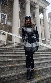 Ava Graham in front of Old Main     collegian.psu.edu