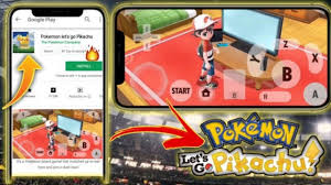 Pokemon Let's Go Pikachu File Download For Android - treedroid