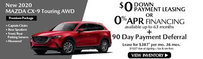 mazda lease offers in new roce