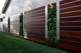 Ipe Wood Fence Landscape Contemporary With Modern Fence Design Fence Design Fence Landscaping