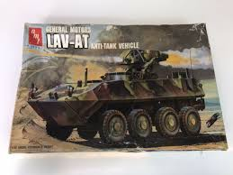 Toys Hobbies 1 35 Lav At Light Armored Vehicle Antiank Model Kit Metal Decal Land