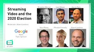 TVOTSF2019 - Streaming Video and the 2020 Election