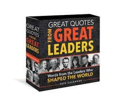 great quotes from great leaders page a day daily box desk