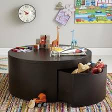 kids play table coffee table with storage