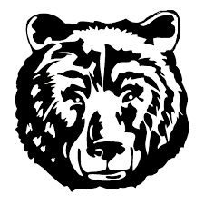 14 4 15cm Wild Big Bear Head Car Stickers Creative Car Styling Decal Animal Accessories Black Silver C9 1868 Car Styling Car Styling Stickerscar Decal Sticker Aliexpress