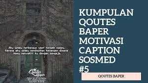 qoutes baper caption sosial media populer