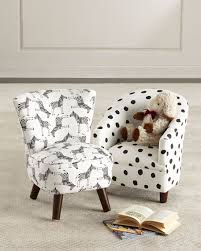 Kids Oriana Zebra Print Chair