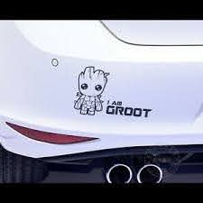 Car Sticker I Am Groot Decal Guardians Of The Galaxy Vinyl Wrap Window Ebay