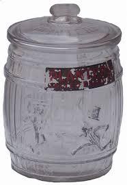planters peanut glass jar antique
