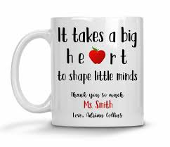teacher appreciation gift mug