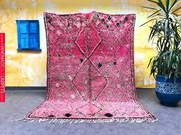 vintage morocco boujad rug area rug