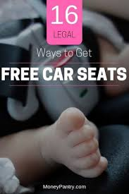 16 ways to get free infant car seats