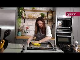 clean your neff slide hide oven door