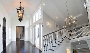 how to size a foyer chandelier