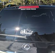 Catuned Off Road Decal Sierra Nevada Catuned Off Road