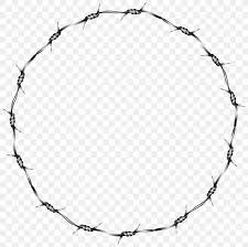 Barbed Wire Fence Clip Art Png 8000x7970px Barbed Wire Area Black And White Circuit Diagram Concertina