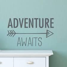 Adventure Awaits Wall Decal Playroom Decal Db427 Designedbeginnings