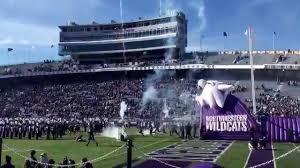Northwestern football entrance - YouTube