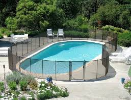 Pool Fence Ideas Protective Fencing For Your Garden Pool