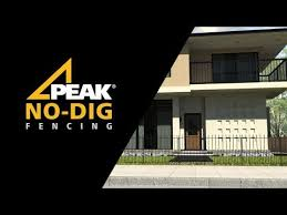 peak no dig fencing overview and