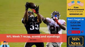 NFL Week 7 recap, scores and standings ...