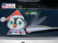 Rear Vehicle Car Window Moving Animated Wiper Blade Tag Decal Windshield Decal Ebay