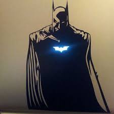 Menacing Vigilante Decals Batman Macbook Sticker