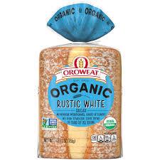 oroweat organic rustic white bread non