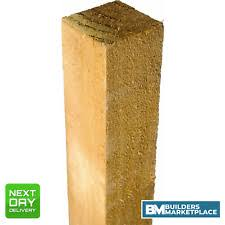 100x100 Timber In Fence Posts For Sale Ebay
