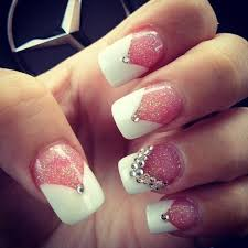 white tip nail designs stickers she