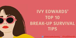 Ivy Edward's Break-up Survival Tips | Hachette UK