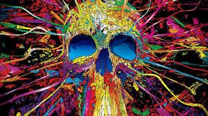 sugar skull background wallpaper 06377