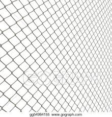 Drawing Chain Link Fence Clipart Drawing Gg54984155 Gograph