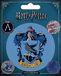 Amazon Com Wizarding World Harry Potter Ravenclaw Vinyl Sticker Multi Color 10 X 12 5cm Home Kitchen