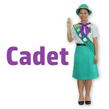Image result for female cadet word