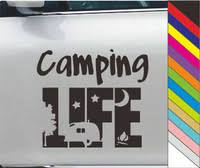 Camping Rules Subway Art Wall Decals Sticker Camper Rv Camp Quote Saying Wall Sticker Vinyl Wall Decals Decor Wish