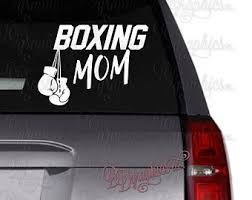 Boxing Gloves Decal Etsy