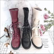 fashion soft full grain leather boots