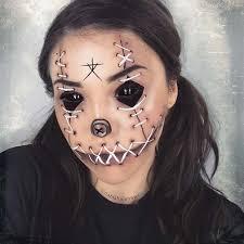 creepy doll makeup look saubhaya makeup