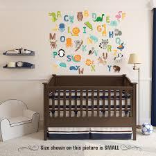 Alphabet Letters Animal Wall Decals Nursery Decor