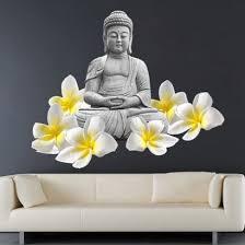 Buddha Lotus Flower Tibet Sticker Buddha Buddha Lotus Buddhist Decor