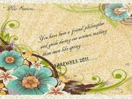 create farewell card templates you