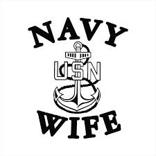 Navy Wife Us Navy Wife Us Navy Vinyl Decal Vinyl Sticker Decal Etsy