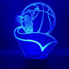 Led Night Light Women S Basketball Light For Kids Room Night Light Battery Powered Three Dimensional Basketball 3d Lamp Children Led Night Lights Aliexpress