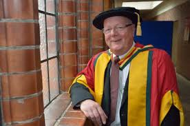 Adrian Brooks awarded honorary doctorate | Backstage Academy