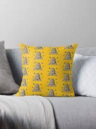 """some bees"""" Throw Pillow by ava-beck   Redbubble"""