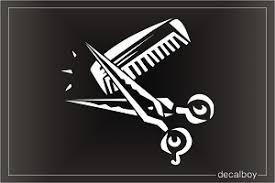 Hairdresser Decals Stickers Decalboy