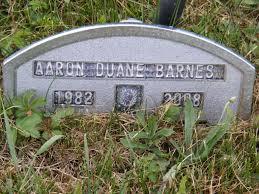 Aaron Duane Barnes (1982-2008) - Find A Grave Memorial